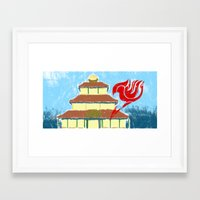fairy tail Framed Art Prints featuring Fairy Tail Segmented by JoshBeck