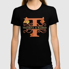 Thanksgiving T Monogram T-shirt