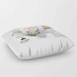 Designers United - All Six Designs Floor Pillow