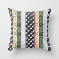 boho Throw Pillows featuring Boho by Designed by Debby