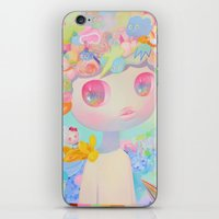 sunshine iPhone & iPod Skins featuring Sunshine by So Youn Lee