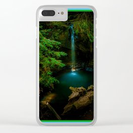 Big Basin Redwood State Park, Boulder Creek, CO Clear iPhone Case