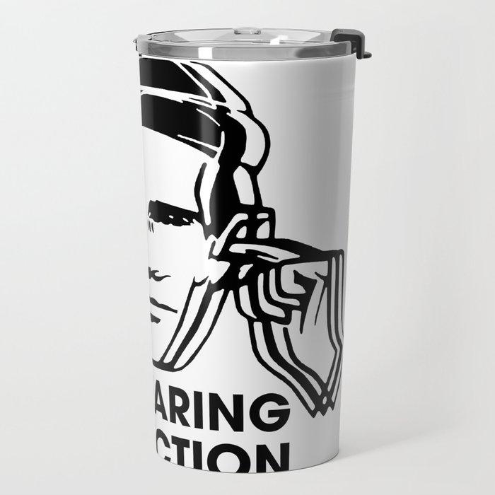 FAC 1 tribute - Factory Records - Use Hearing Protection Travel Mug