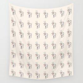 Sketched Reindeer Wall Tapestry