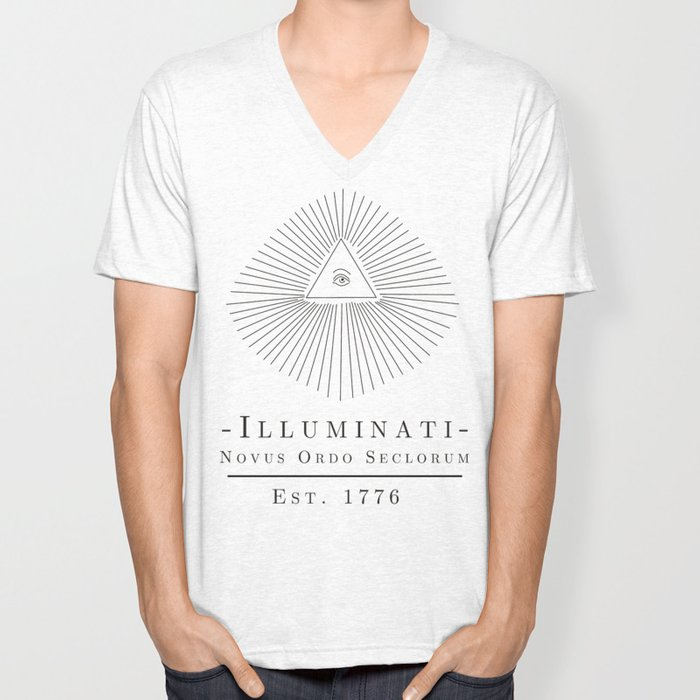 Illuminati Unisex V-Neck