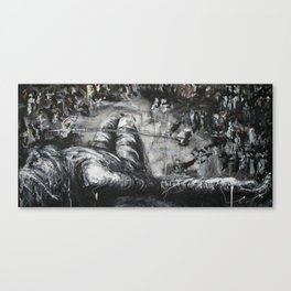 Crucifixion III Canvas Print
