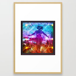"""Dancer In Shadows"" by surrealpete Framed Art Print"