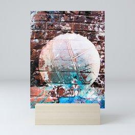 Modern Volleyball Art Mini Art Print
