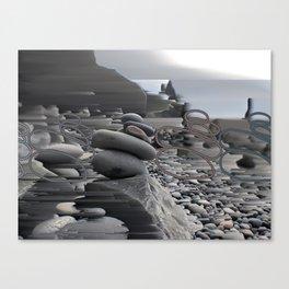 rockpile.2 Canvas Print