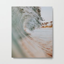 summer waves xiii Metal Print