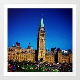 Parlament Art Print