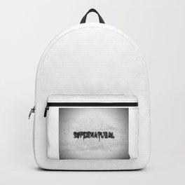 Supernatural monochrome Backpack