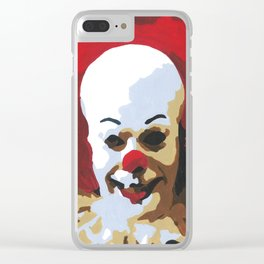 Paint by Number Penny Wise IT Clear iPhone Case