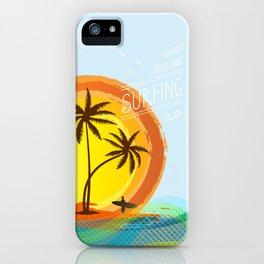 Enjoy summer iPhone Case