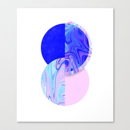 marblized Canvas Print