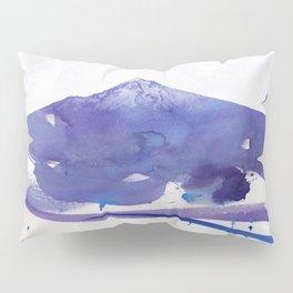 Mt. Hood watercolor Pillow Sham