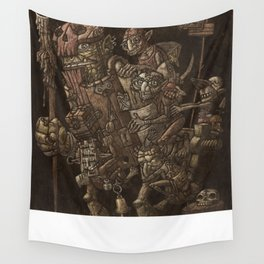 Moria taxi troll Wall Tapestry