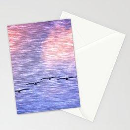 Flight Formation Stationery Cards