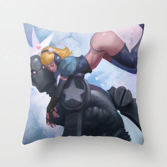 Thanks Ashley Throw Pillow