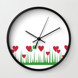 """Lucky in Love"" Rare Pyrex Holy Grail Vintage Inspired Wall Clock"