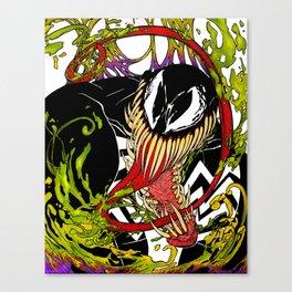 Neon Venom Canvas Print
