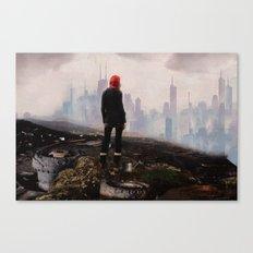 Urban Human Canvas Print