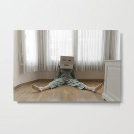 Box woman Metal Print