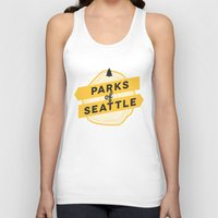 parks Tank Tops featuring Parks of Seattle by Parks of Seattle