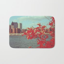 Autumn in New York Bath Mat