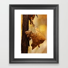The Parting of Ways Framed Art Print