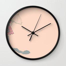 Loli shadowcast Wall Clock
