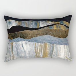 Painted Mountains Rectangular Pillow
