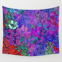 Electric Garden Wall Tapestry