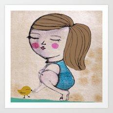 My  friend Art Print
