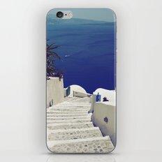 Santorini Stairs II iPhone Skin