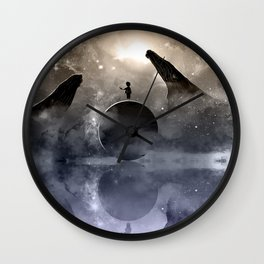 The Little Planet Ocean Wall Clock
