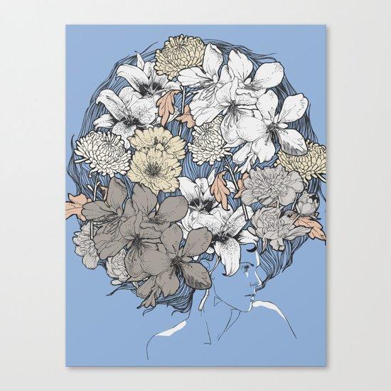 INSIGHT BLOOM Canvas Print