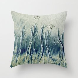 The Cypress Forest Throw Pillow