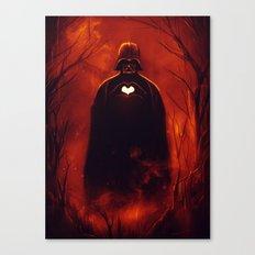 Heart Vader Canvas Print