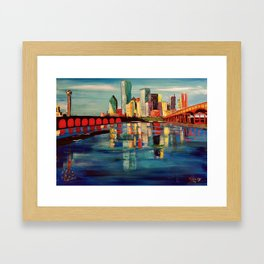 Expression Dallas Framed Art Print