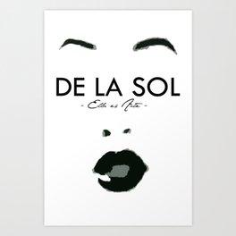 SOL SUPPORT TEE Art Print