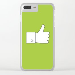 Thumbs up - Influencer's Paradise Clear iPhone Case