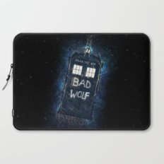 Bad Wolf TARDIS Laptop Sleeve