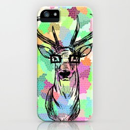 Deer are people too iPhone Case