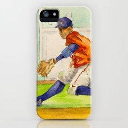 Carlos Correa - Astros Shortstop iPhone Case