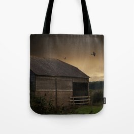 Spitfire Sunset Tote Bag