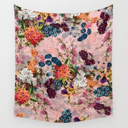 Summer Botanical Garden VIII - II Wall Tapestry