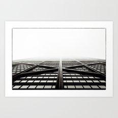 Chicago - Hancock Art Print