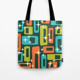Retro Mid Century Modern Abstract Pattern 633 Tote Bag