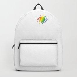 I Heart Painting | Paint Splatter Backpack